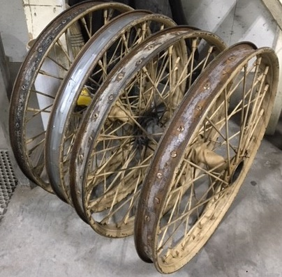 Wheels with Spokes -- Before