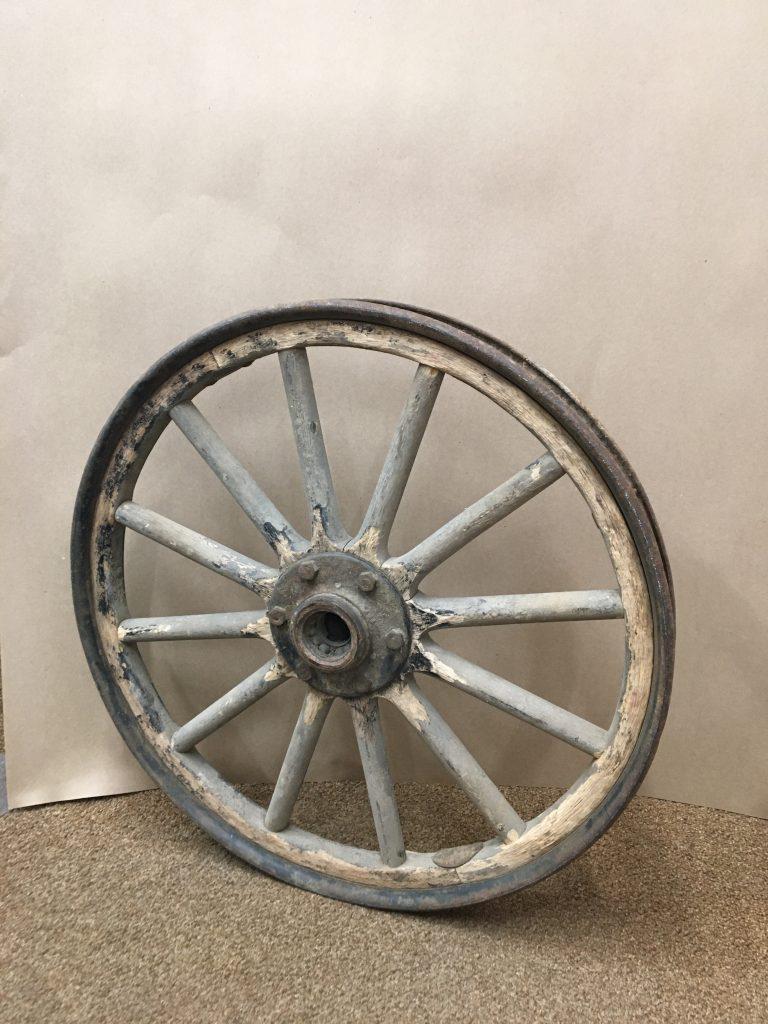 Wooden Wheel -- Before